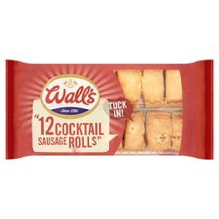 Walls 10 Cocktail Sausage Rolls 300G