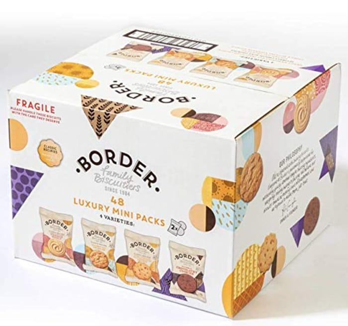Border Biscuits Luxury Mini Packs - 1 X 48s