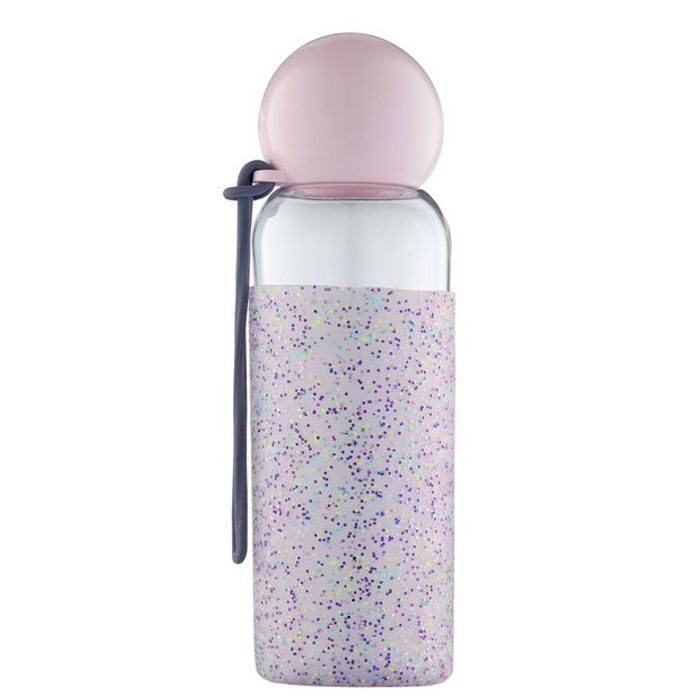 Best Price! Doin It for the Gram Drink Bottle with Glitter Silicone Wrap