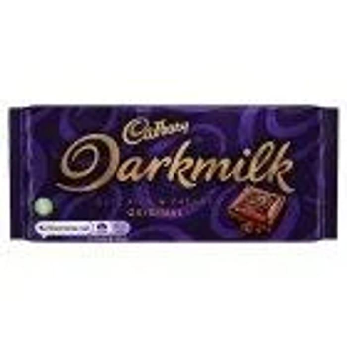 Free Cadburys Dark Milk Chocolate Bar 85g (Online Only) with Code