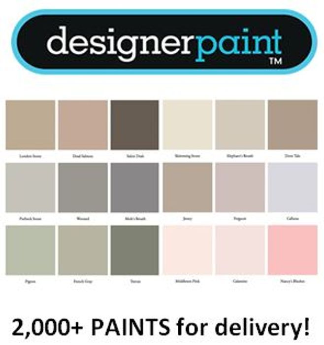 Special Offer! 2,000+ Paints - Available for Delivery at Designer Paints!