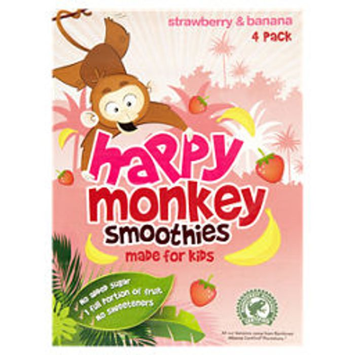 Happy Monkey Smoothies - Various Flavours