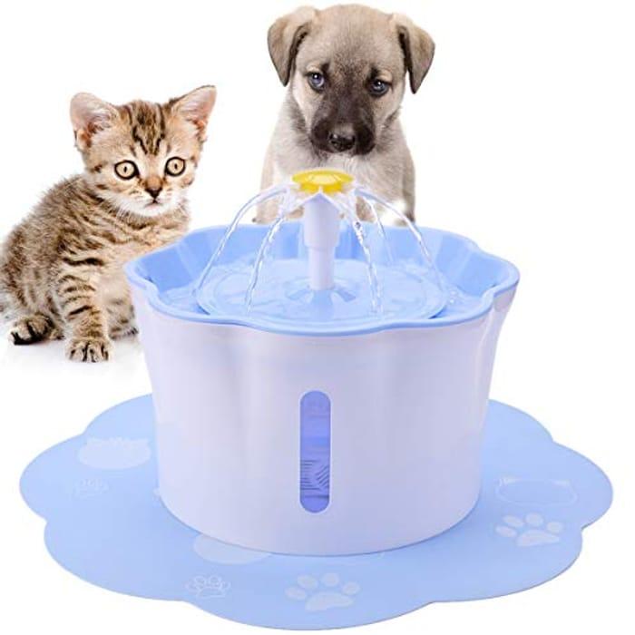 2.6L Pet Cat Water Fountain