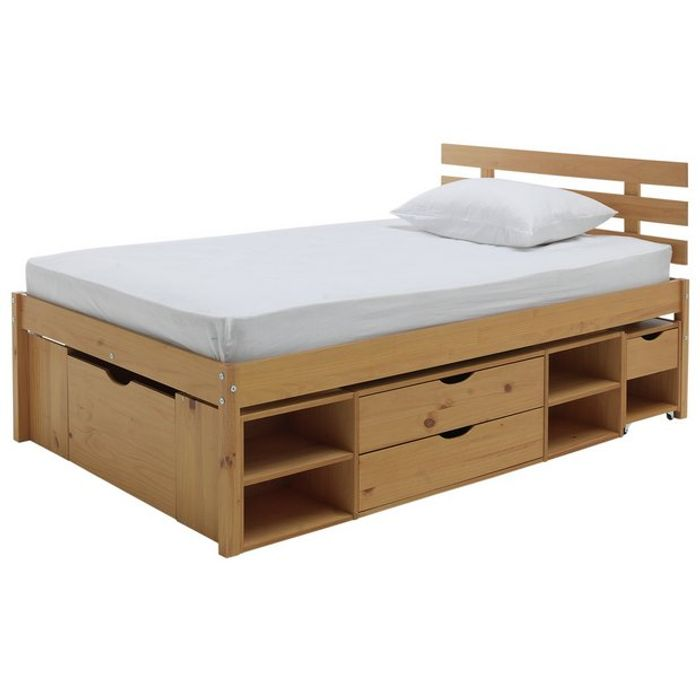 Best Price! Argos Home Ultimate Storage II Double Bed Frame