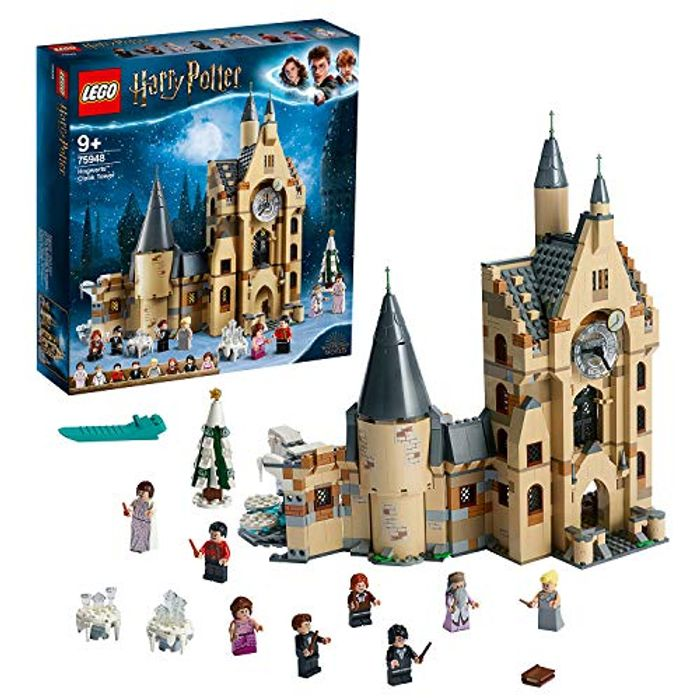 LEGO 75948 Harry Potter Hogwarts Castle Clock Tower Toy,