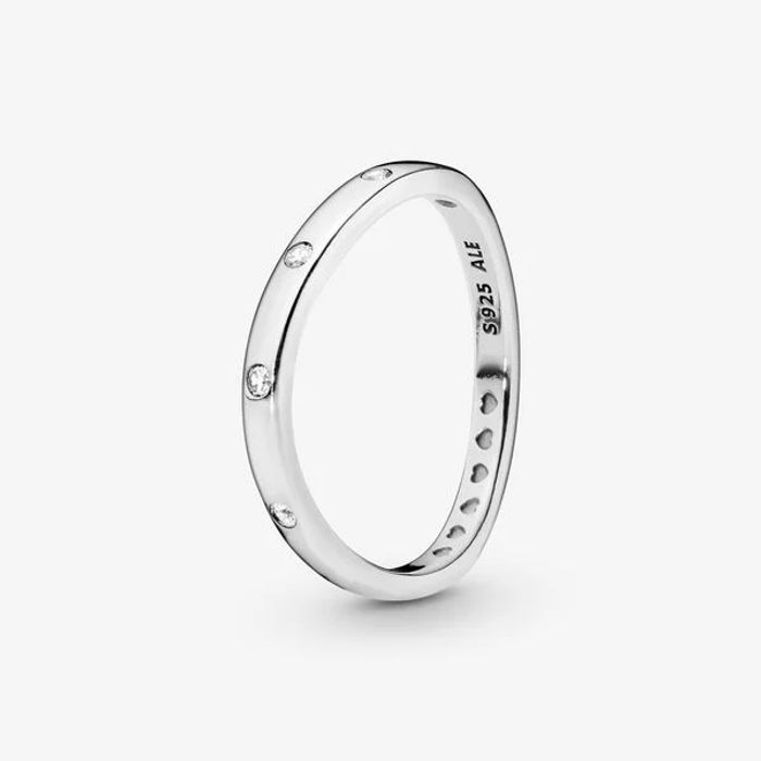 Special Offer - Pandora Minimalistic Curved Ring