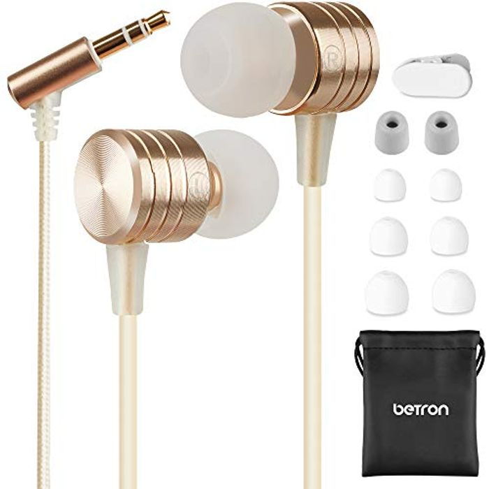 Betron B550s Noise Isolating in Ear Canal Headphones