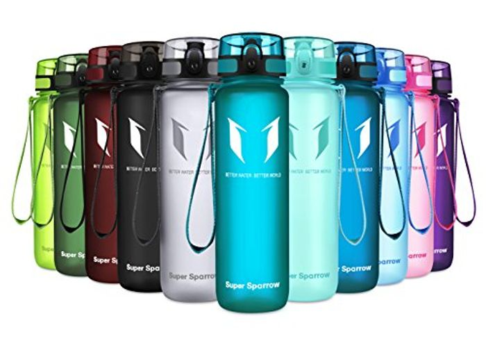 Best Price! Super Sparrow Sports Water Bottle