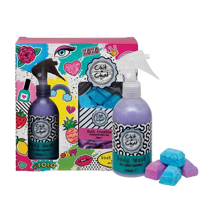 Cheap Chit Chat Soak and Spray Bath Set - Only £3.95!