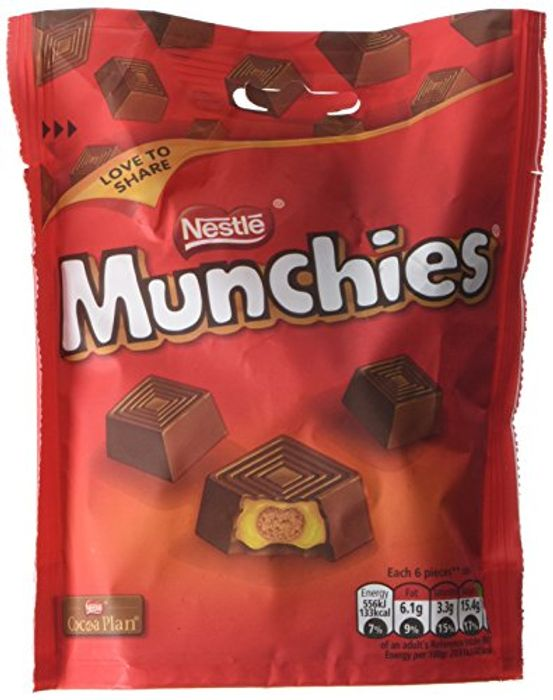 Nestle Munchies Pouch, 104 G (Pack of 8)