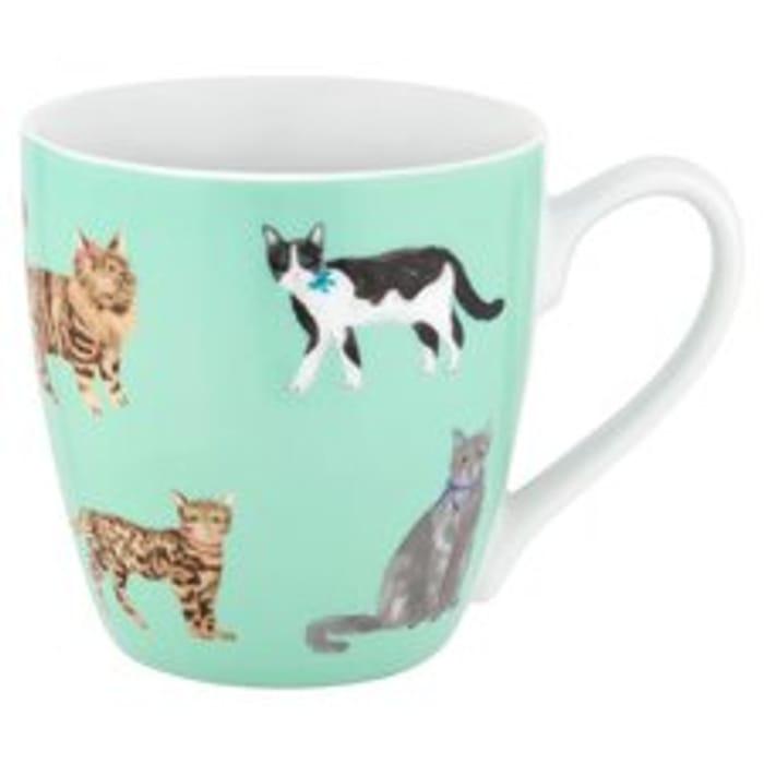 Cat Mug. Half Price Tesco