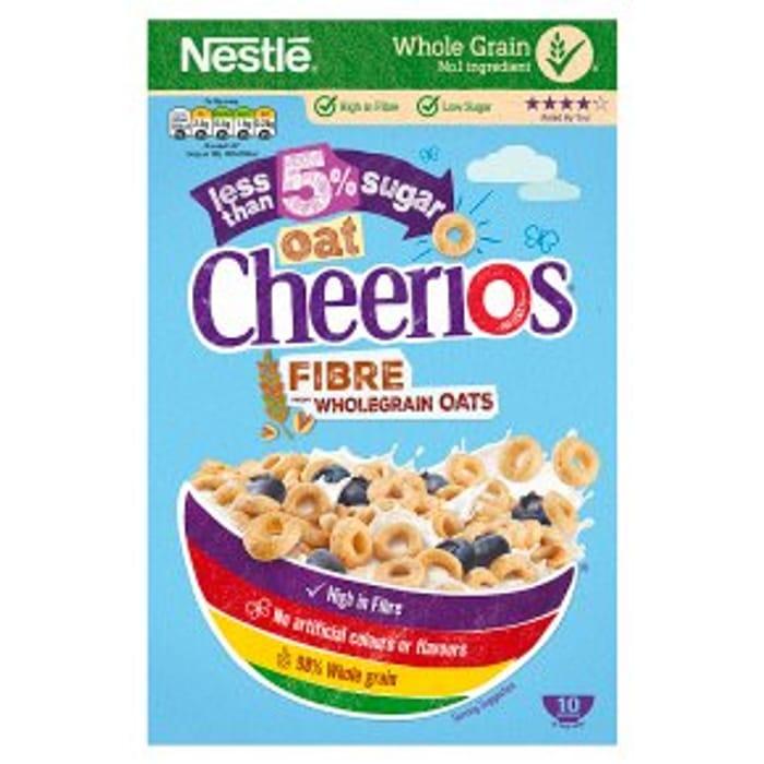 Oat Cheerios Half Price at Waitrose