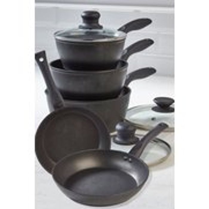 Progress Non Stick Diamond 5 Piece Pan Set