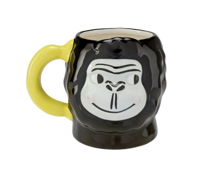 Cheap Adventure is out There Gorilla Mug & Banana Print Wallet - 38% OFF