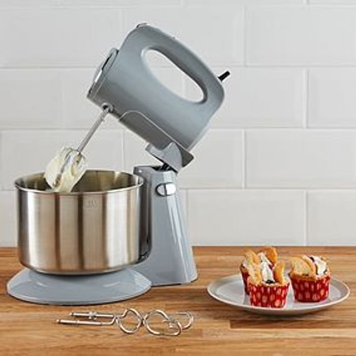 300W Grey Stand Mixer