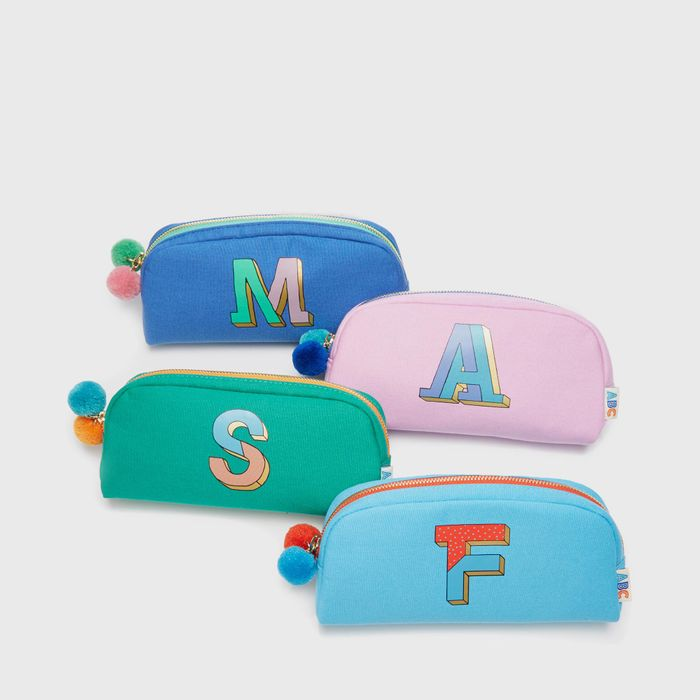 Alphabet Pouch + Free Delivery