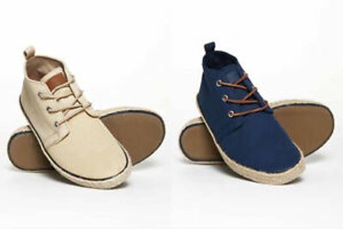 Superdry Men's Skipper Chukka Shoes - £10.50 Delivered - 70% Off