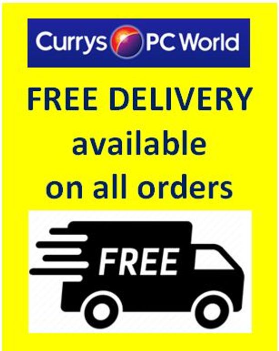 Special Offer - Currys - Free Delivery on Everything