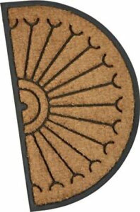 Argos Home Half Moon Fortress Doormat - 45x75cm Del Free