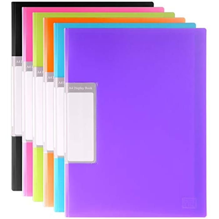 Folder Assorted Colours Blue Black Green Orange
