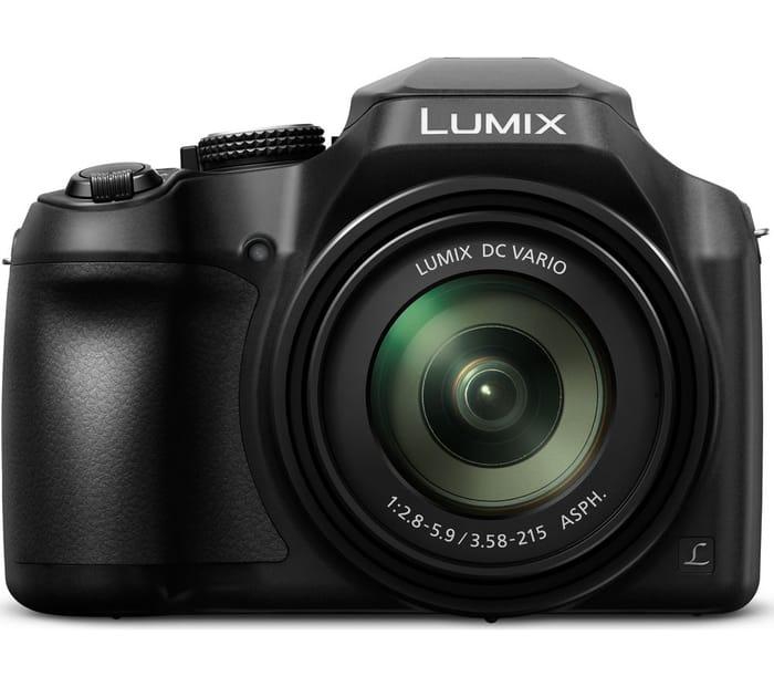 *SAVE £10* PANASONIC Lumix Bridge Camera with Built-in WiFi - Black
