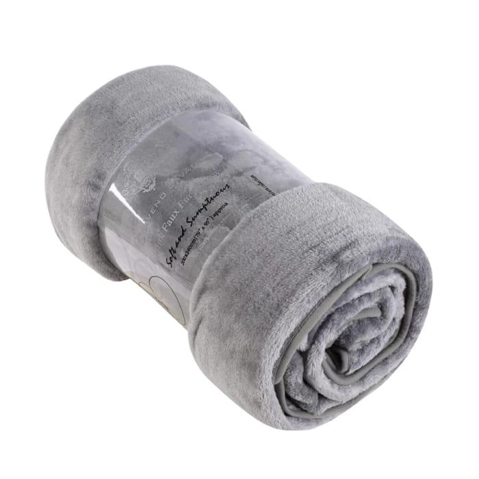 Best Price! 26% Mink Faux Fur Blanket