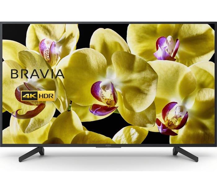 "SONY BRAVIA KD65XG8096BU 65"" Smart 4K Ultra HD HDR LED TV with Google Assistant"
