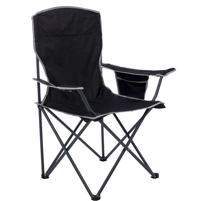 Quest Easy Morecambe Chair - Black on Sale From £14.99 to £9.99