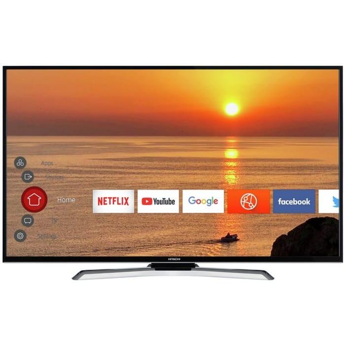 Hitachi 55 Inch 55HK25T74U Smart 4K LED TV