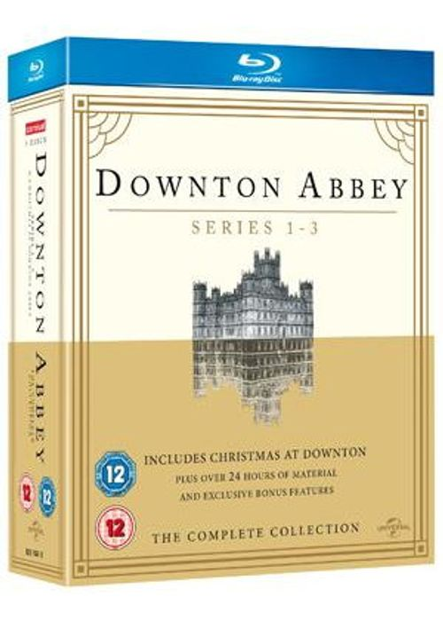 Downton Abbey - Series 1-3 Blu-Ray FREE DELIVERY