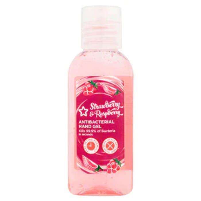 Superdrug Strawberry & Raspberry Antibacterial Hand Gel 50ml