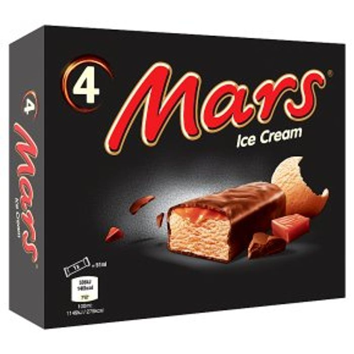 Mars Ice Cream4x51ml