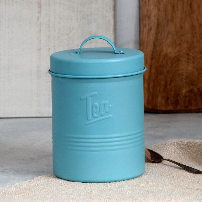 Forties Style Embossed Tea Tin ***BETTER than HALF PRICE***