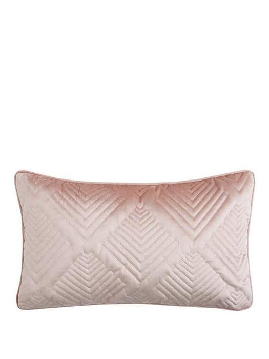 Michelle Keegan Pink Velvet Cushion - Save £6