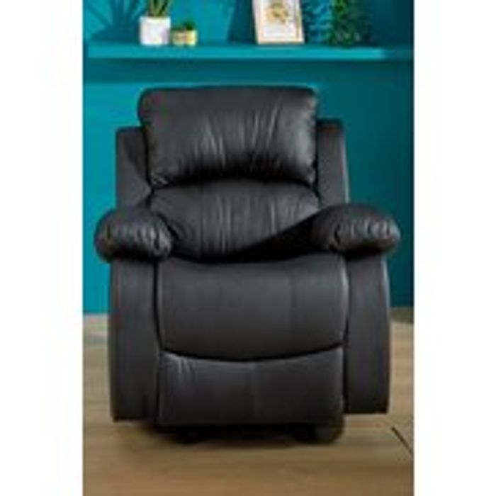 Faux Leather Rocking Relaxer Chair - Save £30