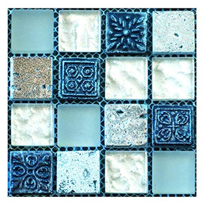 20PCS Mosaic Wall Tile Transfers Stickers - Only £4.99!