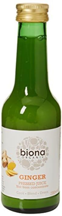 Biona Organic Ginger Juice 200 Ml (Pack of 6) at Amazon