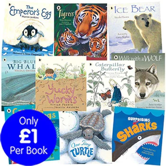 Nature Storybooks - 10 Kids Picture Books Bundle. worth £69.90