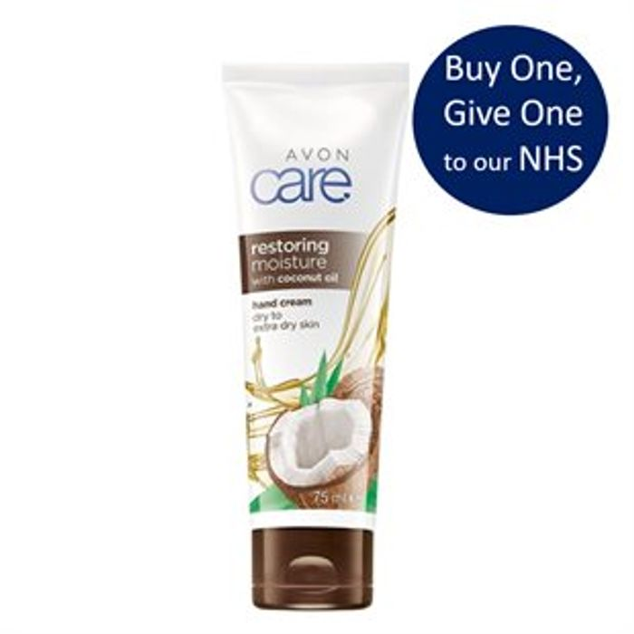 Avon Care Coconut Oil Hand Cream - Buy 1 & Well Give 1 to Our Amazing NHS