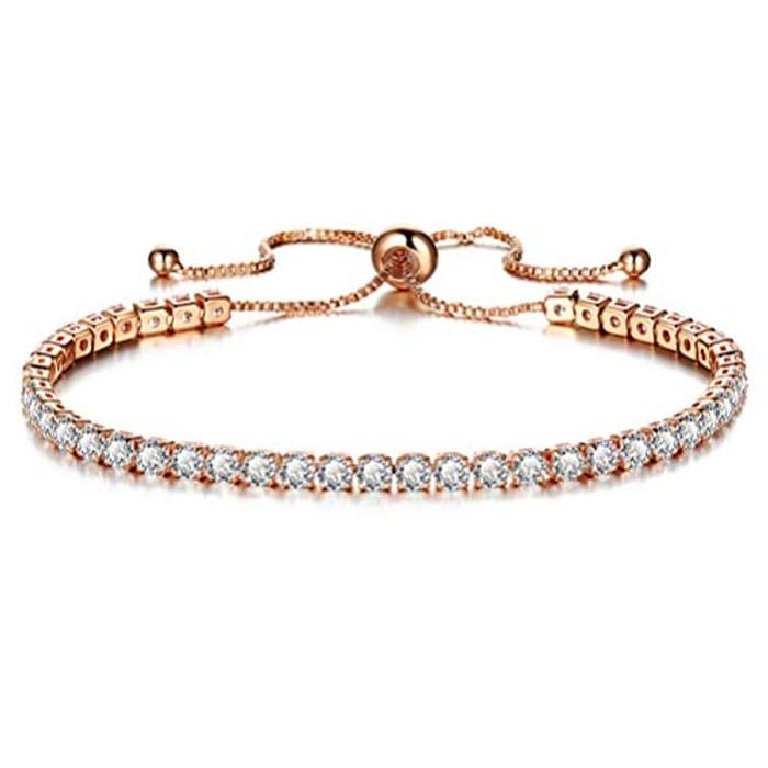 Exquisite Crystal Bracelet