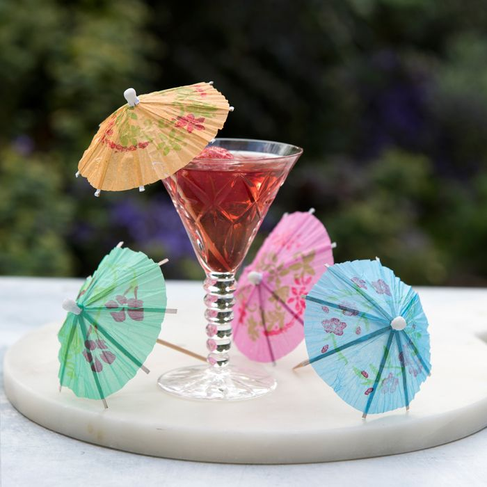 Pack of 24 Assorted Cocktail Umbrellas Only £0.19 + P&P
