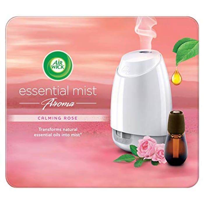 Airwick Air Freshener Aroma Kit Calming Rose 1x Diffuser1x Refill