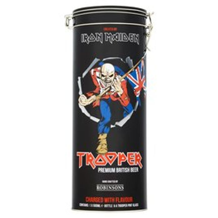Iron Maiden Tooper 4.7% with Pint Glass 500ml