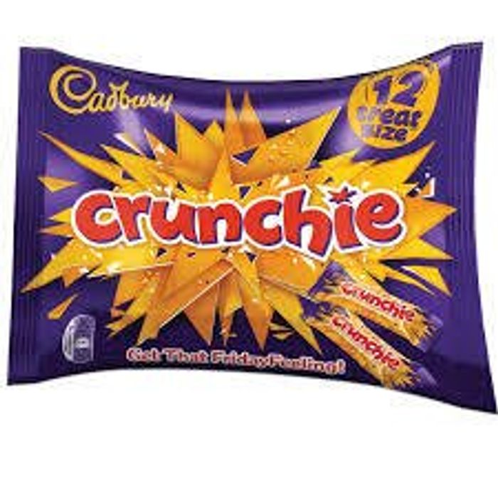 Cadbury Crunchie Treat Size 210G 99p at Farmfoods