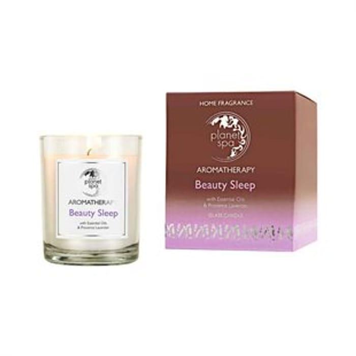 Aromatherapy Beauty Sleep Glass Candle