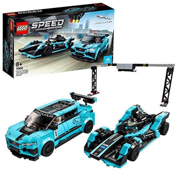 LEGO 76898 Speed Champions Formula E Panasonic Jaguar Racing Generation 2