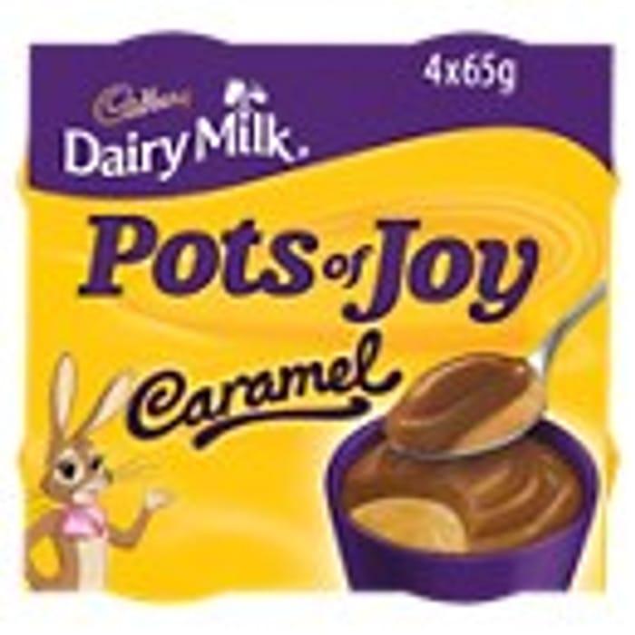 Cadbury Pots of Joy Dairy Milk Caramel Dessert