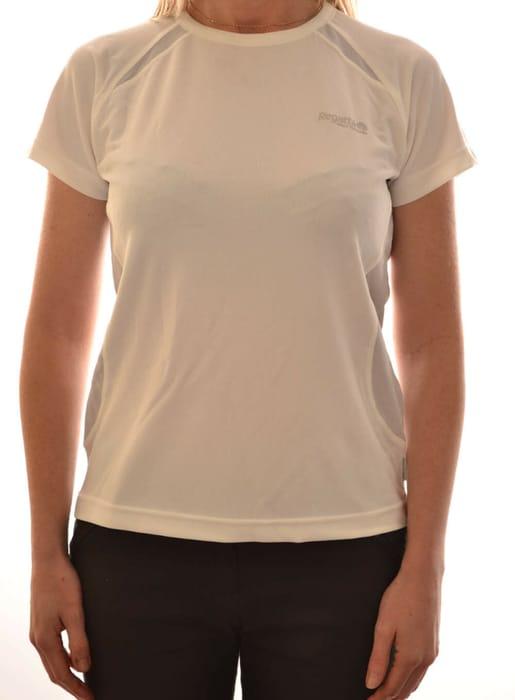 Regatta Ladies Tephra Short Sleeve Performance T Shirt White Bogof