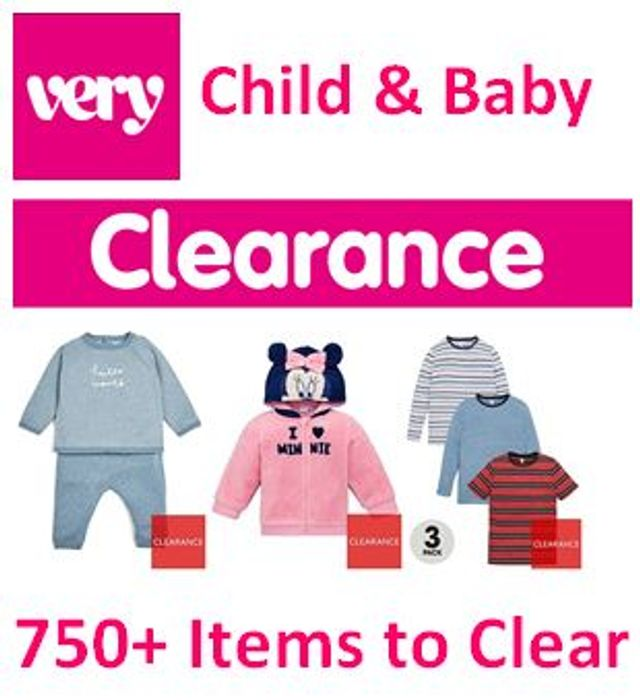 Special Offer - VERY CLEARANCE - Child & Baby