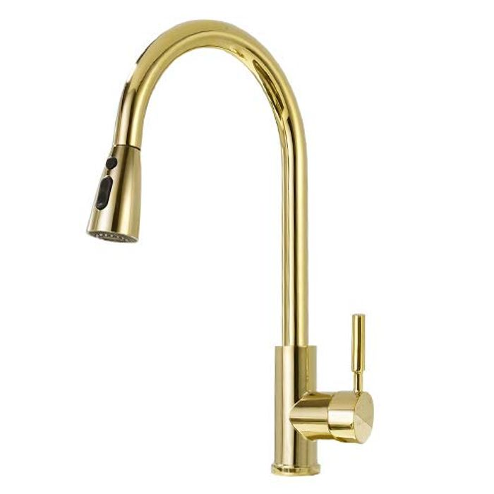 50% off DELLE ROSA Gold 304 Stainless Steel with Solid Brass Modern Commercial